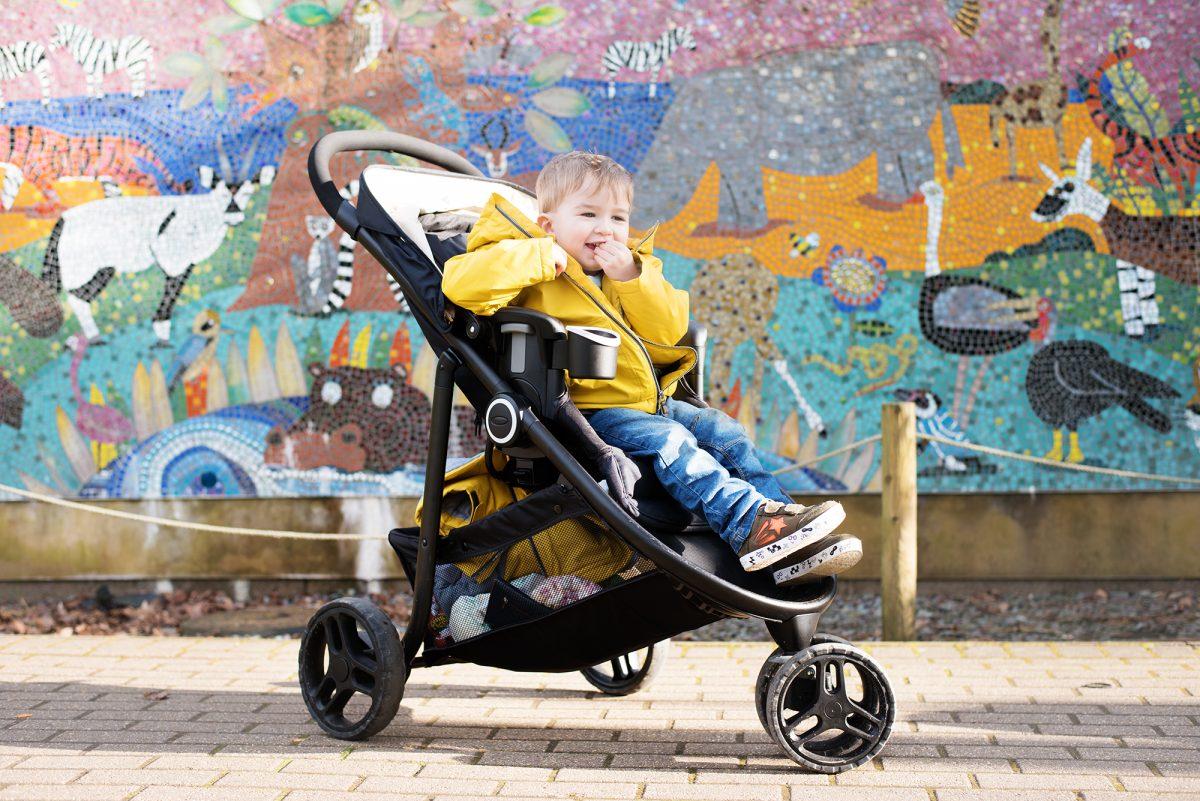 Graco 3 modes lite stroller