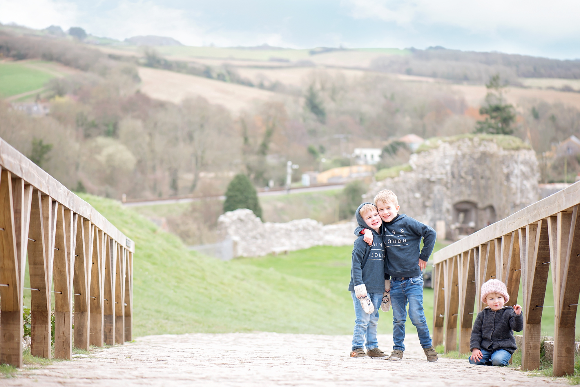 IN THE FAMOUS STEPS OF ENID BLYTON'S FIVE – A TRIP TO CORFE CASTLE