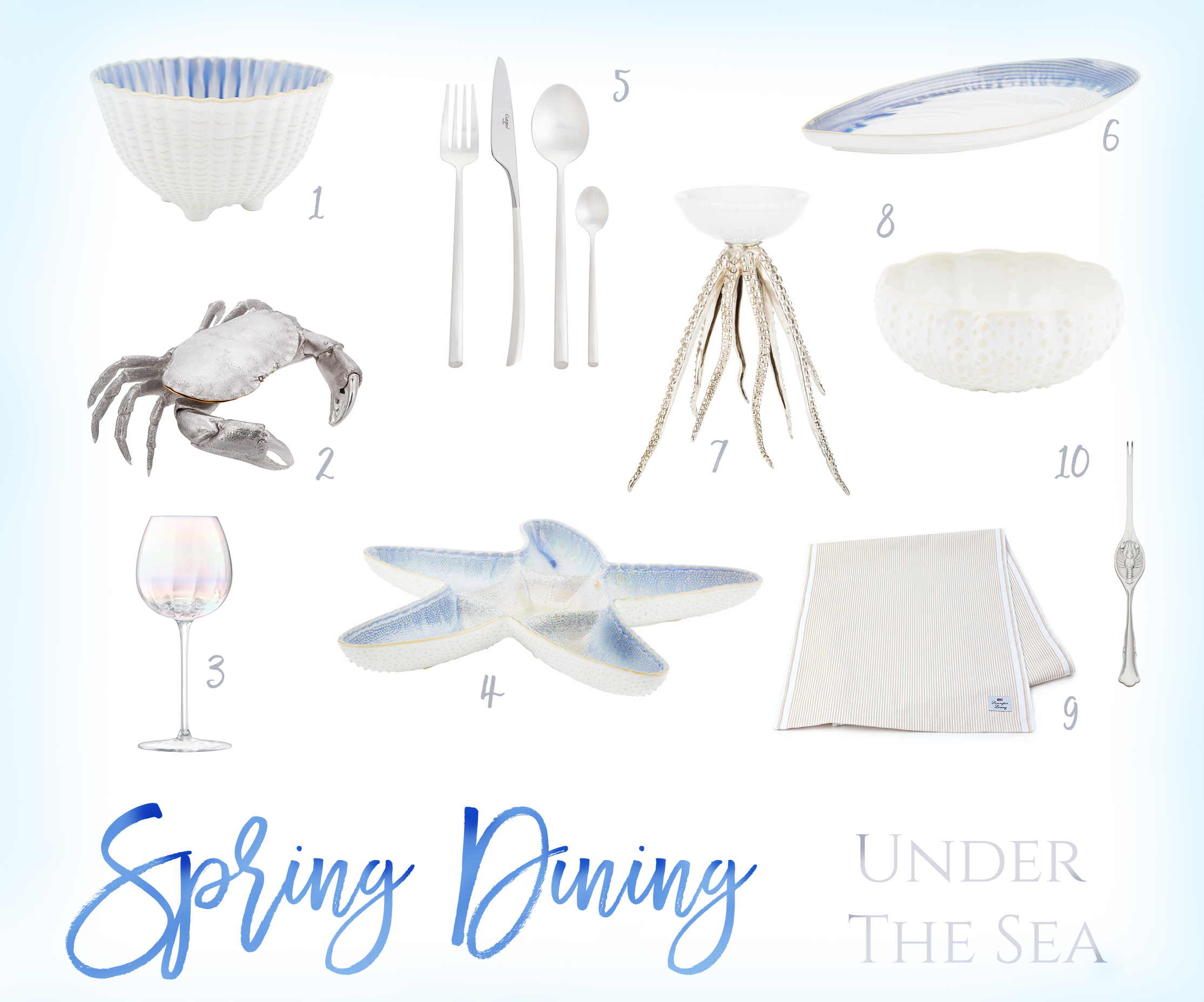 SPRING DINING INSPIRATION WITH AMARA