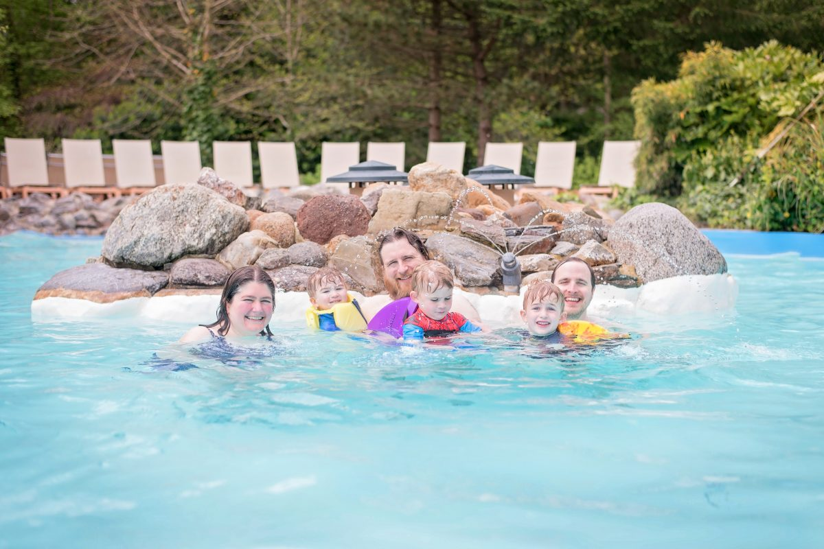 Centerparcs Longleat swimming