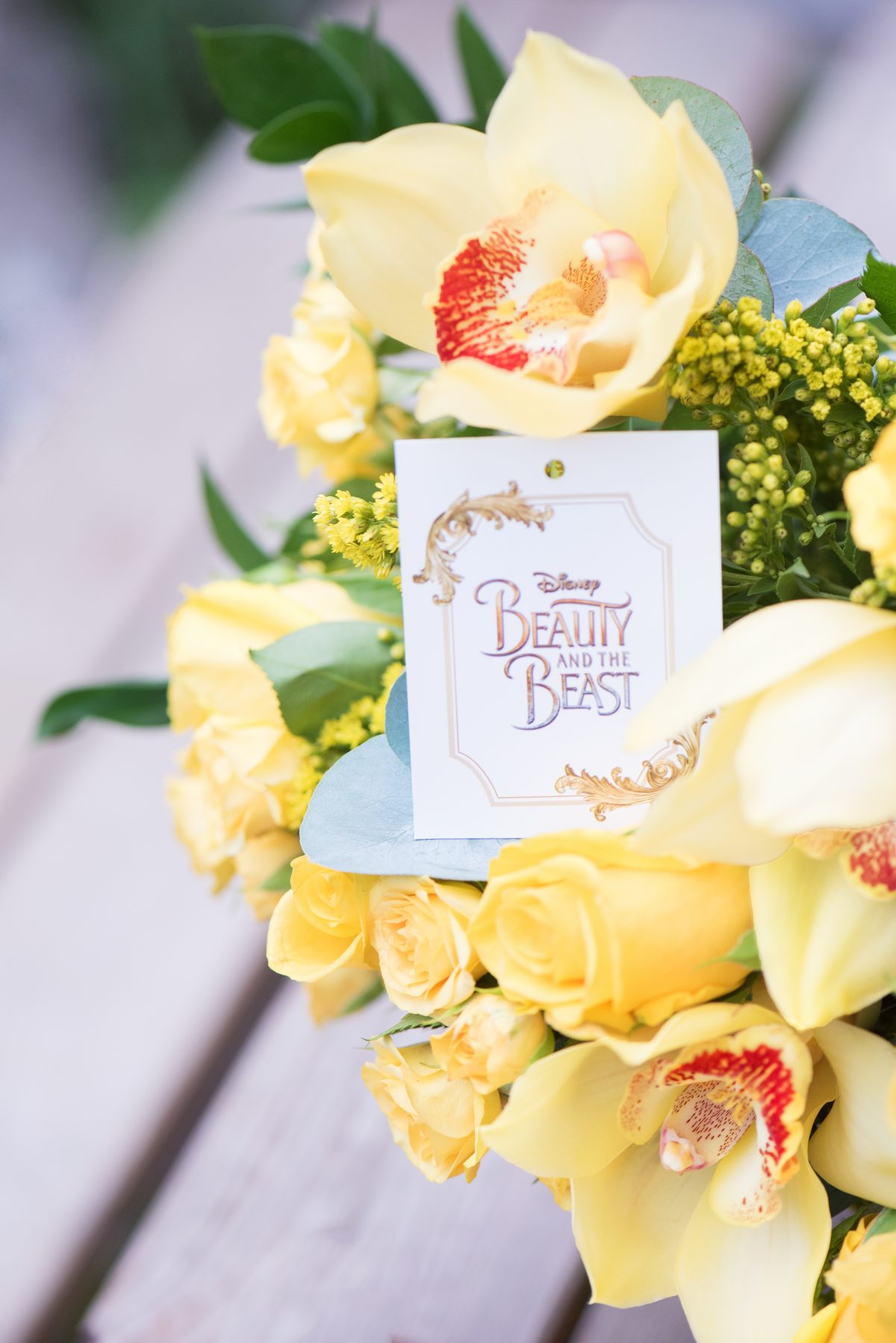 Disney flowers direct Beauty and the Beast