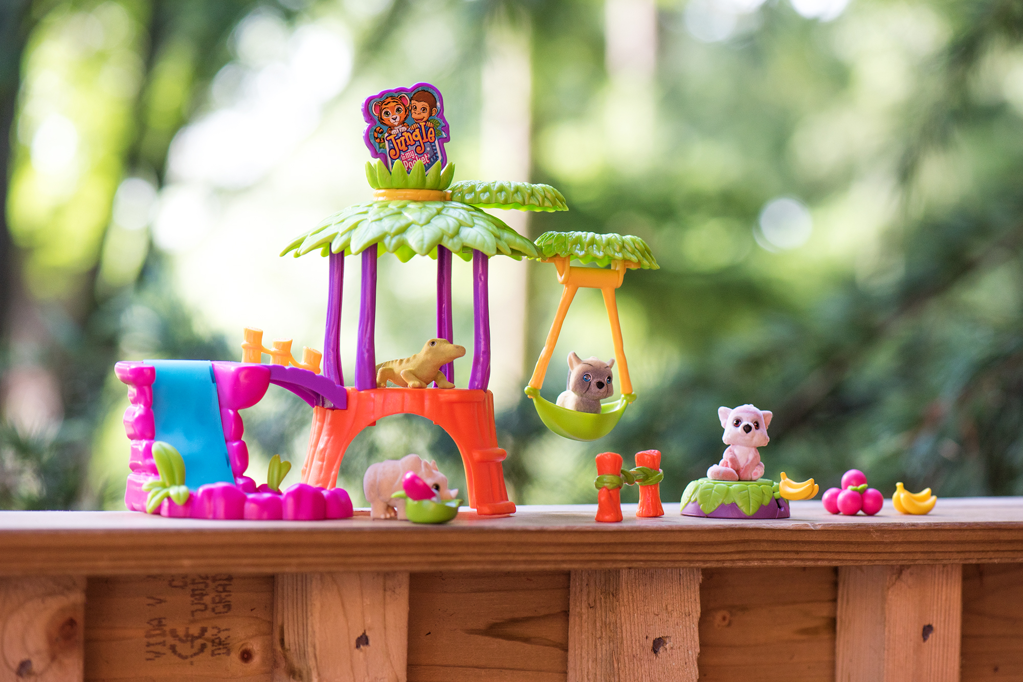 JUNGLE IN MY POCKET TREEHOUSE PLAYSET REVIEW