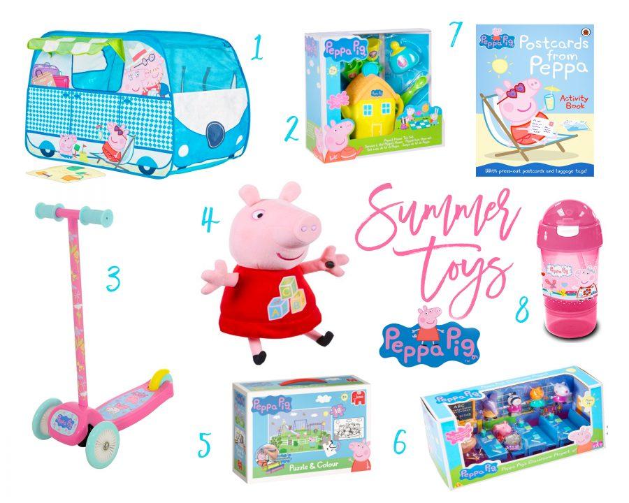 peppa pig summer toys