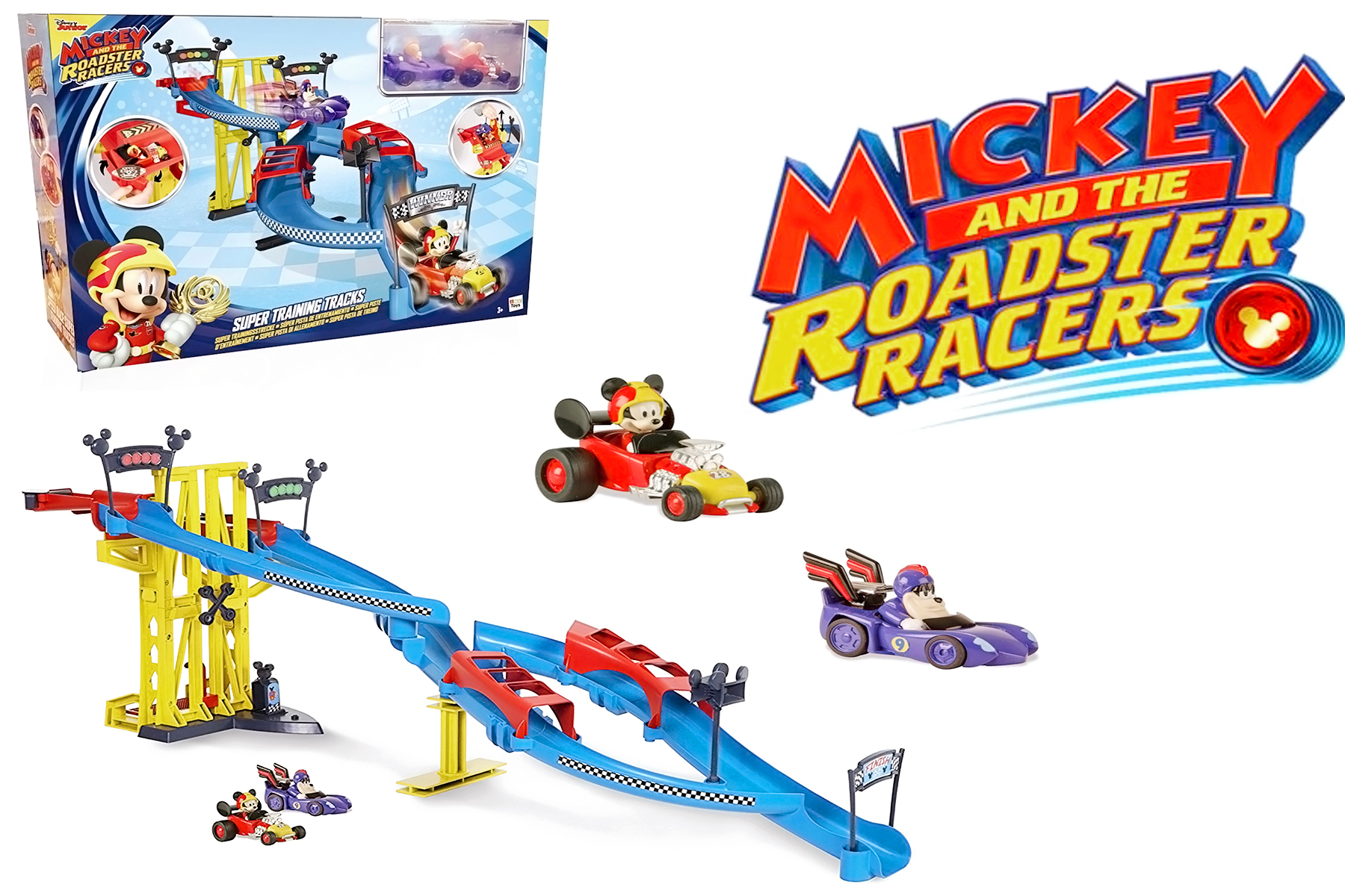 Disney Junior Mickey and the Roadster Racers Speed Test Tracks