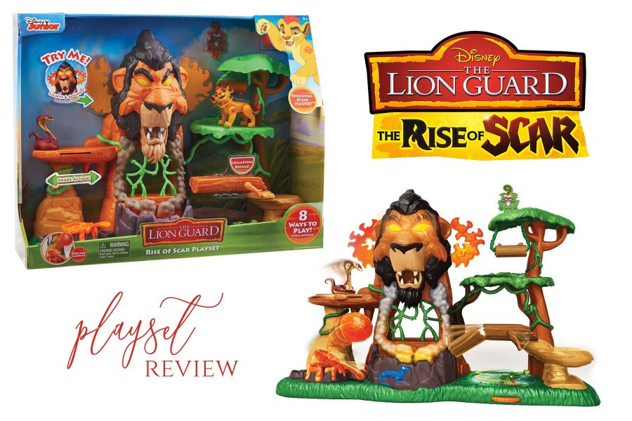 Disney Junior Rise of Scar Playset Lion Guard