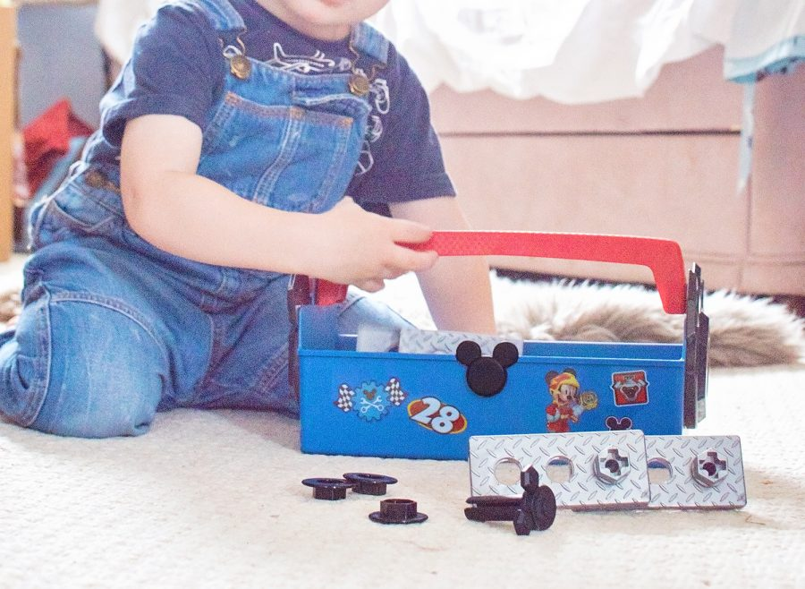 Mickey and the Roadster Racers Pit Crew Toolbox