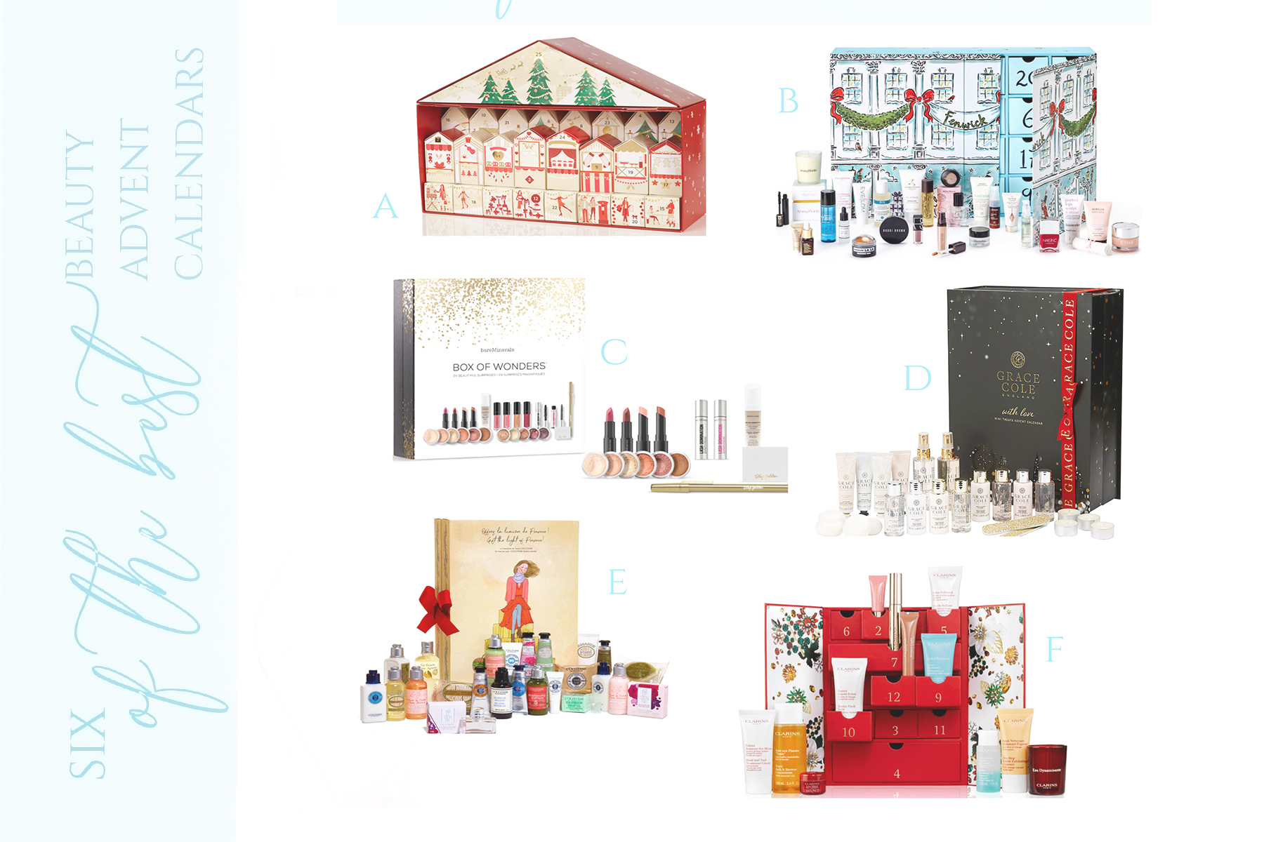 six of the best beauty advent calendars 2017