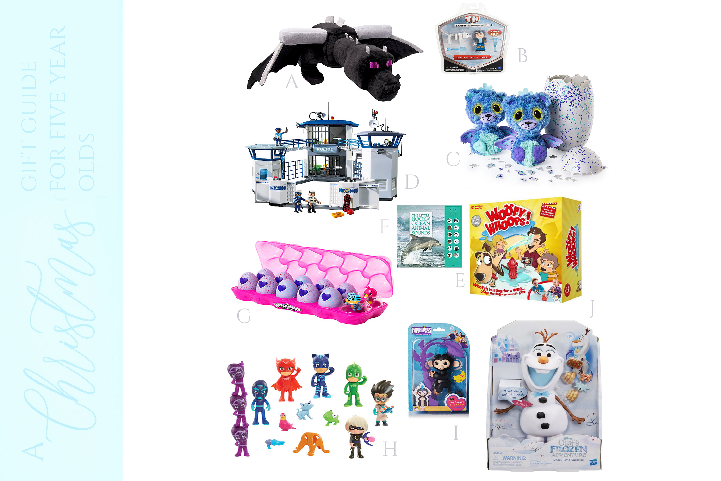 A CHRISTMAS GIFT GUIDE FOR 5 YEAR OLD BOYS