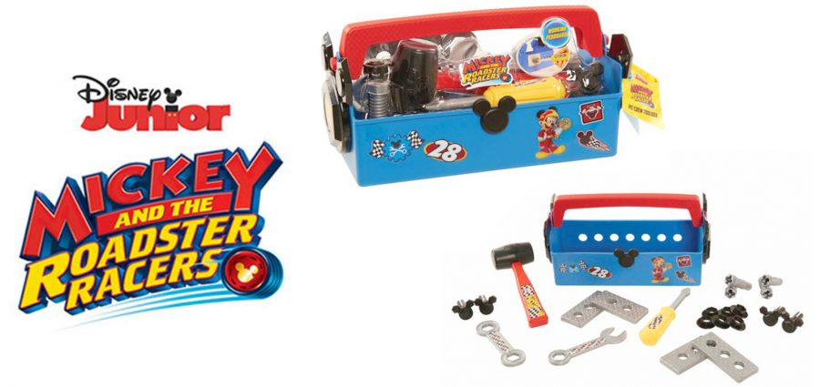 Disney Junior Mickey and the Roadster Racers Pit Crew Toolbox