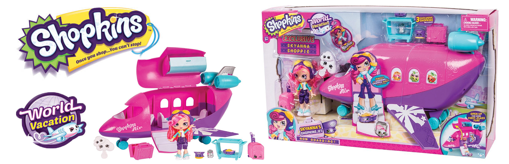 Shopkins Shoppies Skyanna Jwt Playset