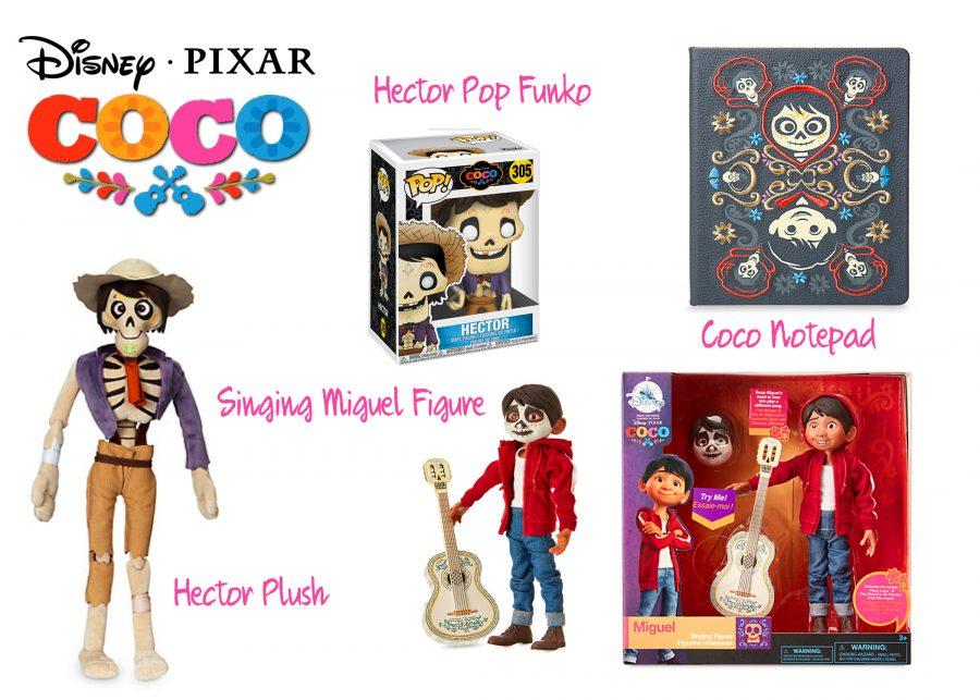pixar coco toys disney store