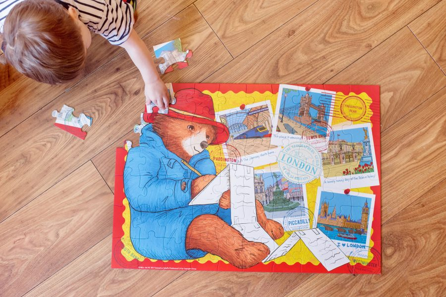 paddington bear giant floor puzzle  jigsaw