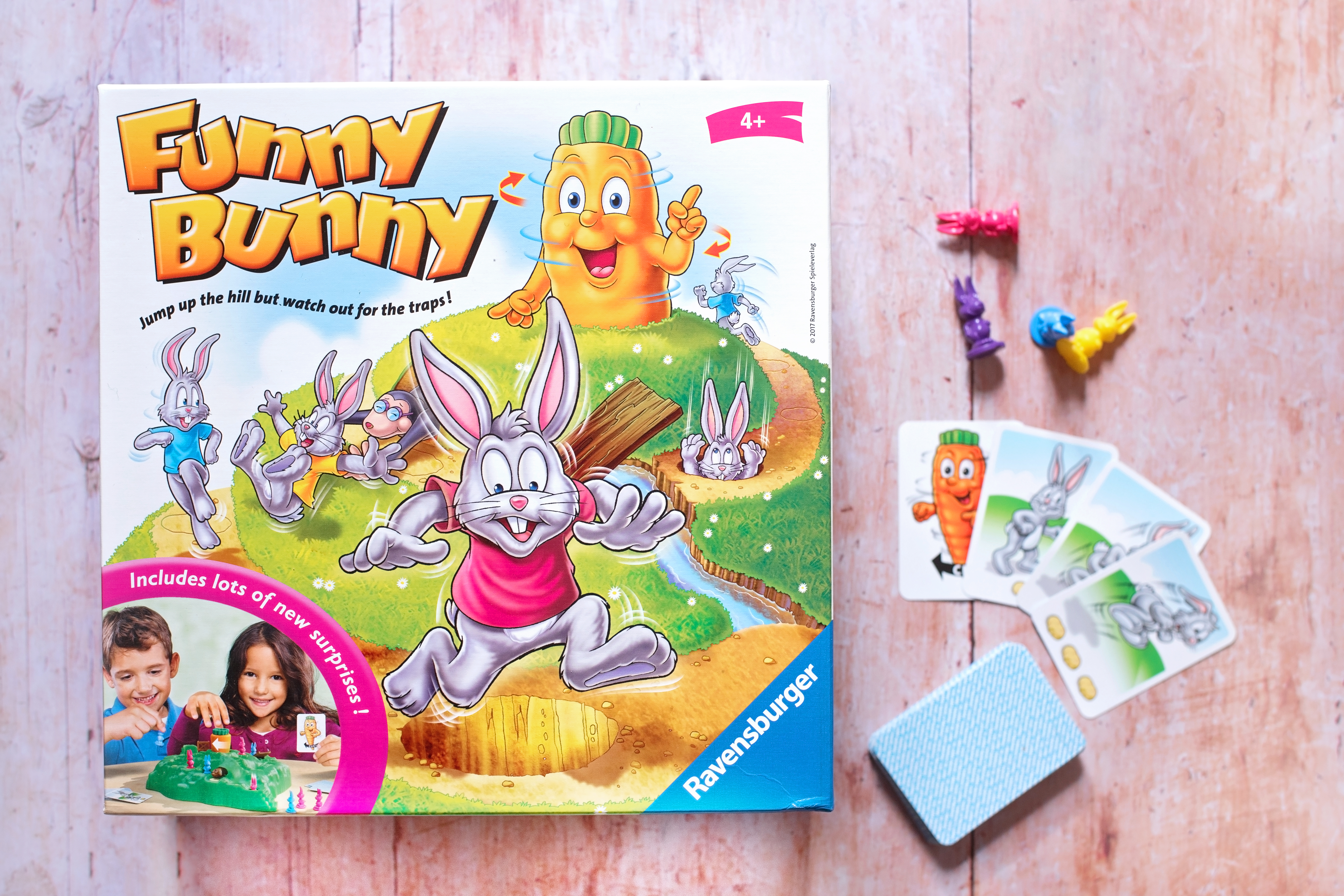 FUNNY BUNNY BOARD GAME REVIEW: A GAME FOR EVERYONE