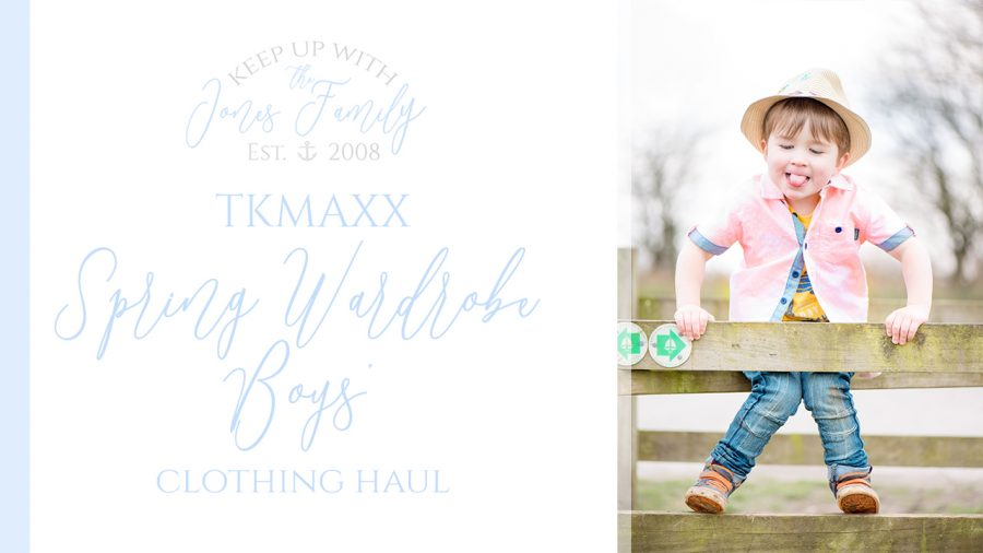 TKMaxx Spring Wardrobe Boys Clothing Haul