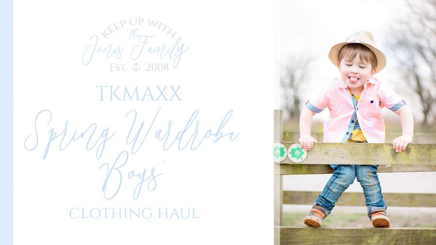TKMaxx Spring Wardrobe Boys Clothing Haul