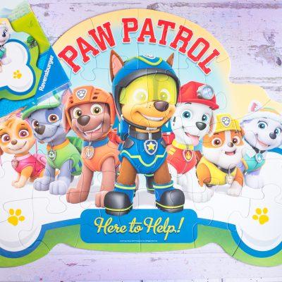PAW PATROL SHAPED FLOOR PUZZLE