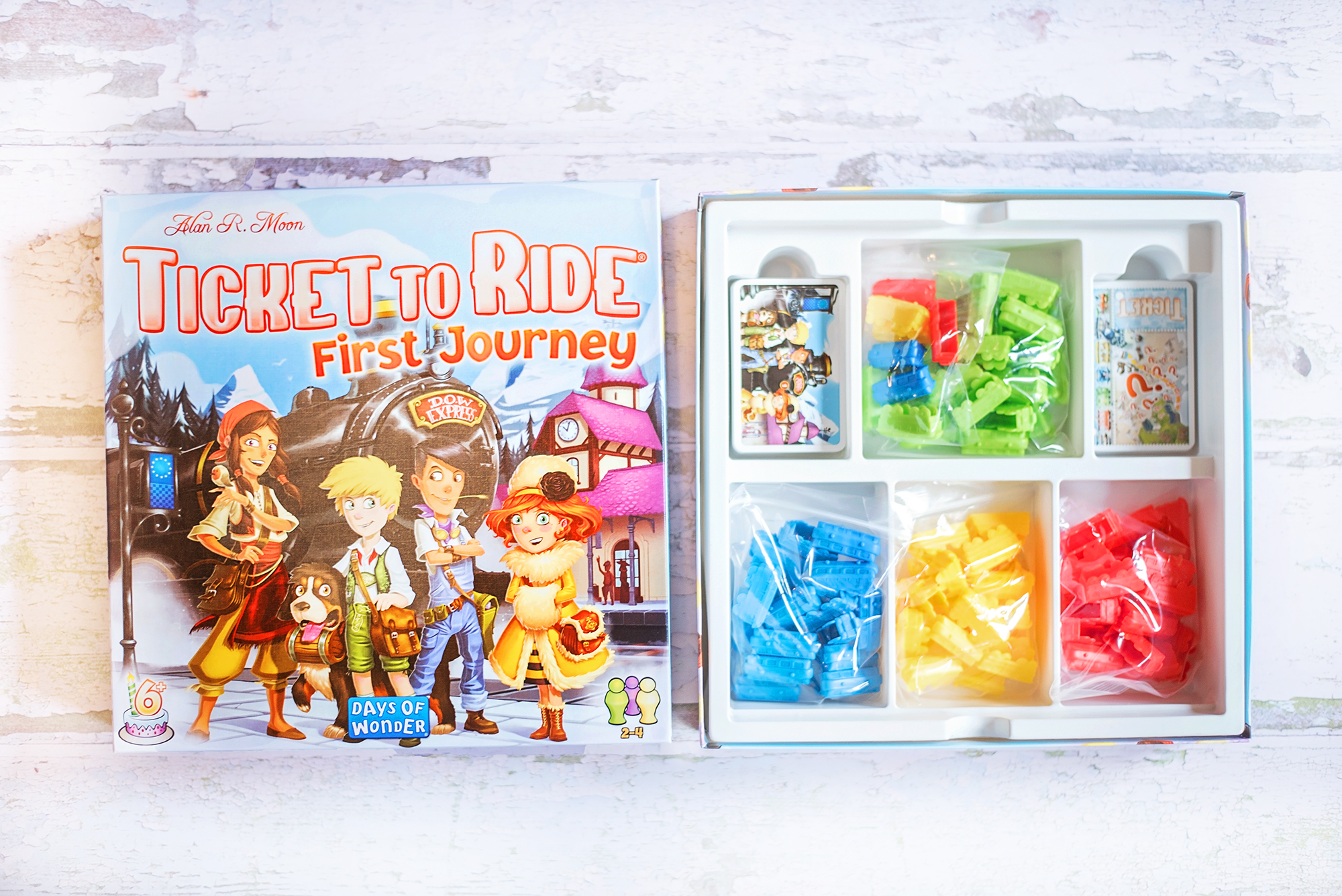 Ticket to Ride Game First Journey Review Ticket to Ride: First Journey