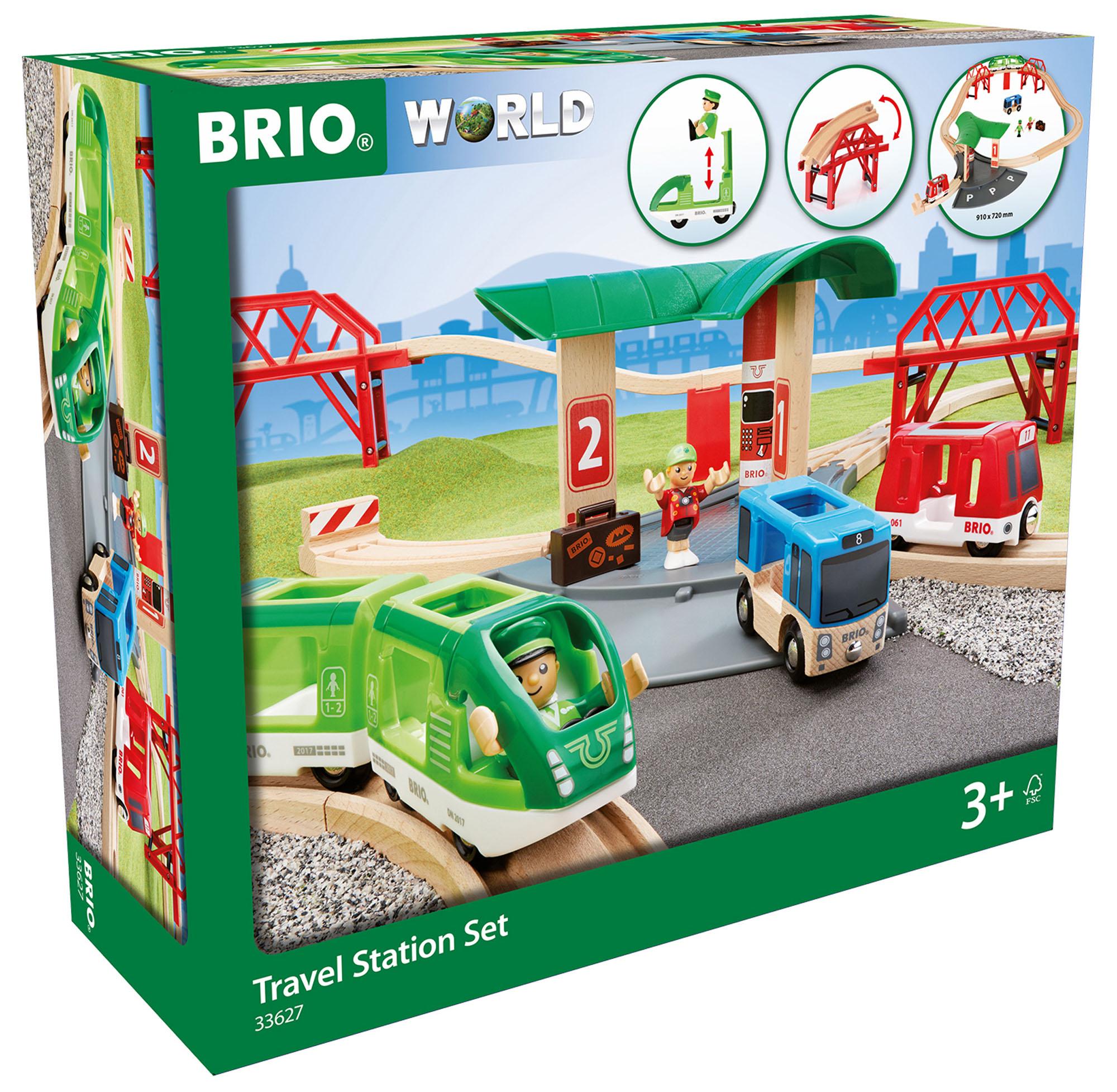 33627 BRIO Travel Station Set