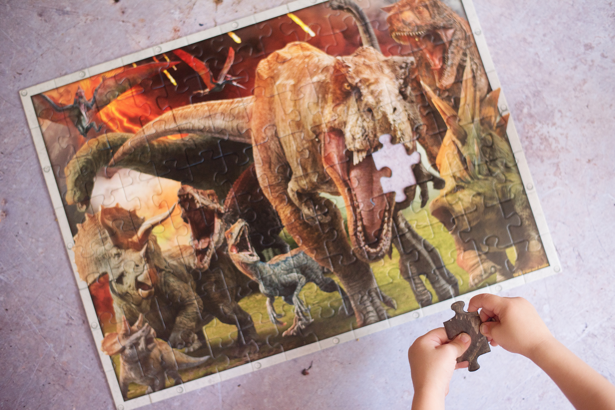 Ravensburger Jurassic World jigsaw