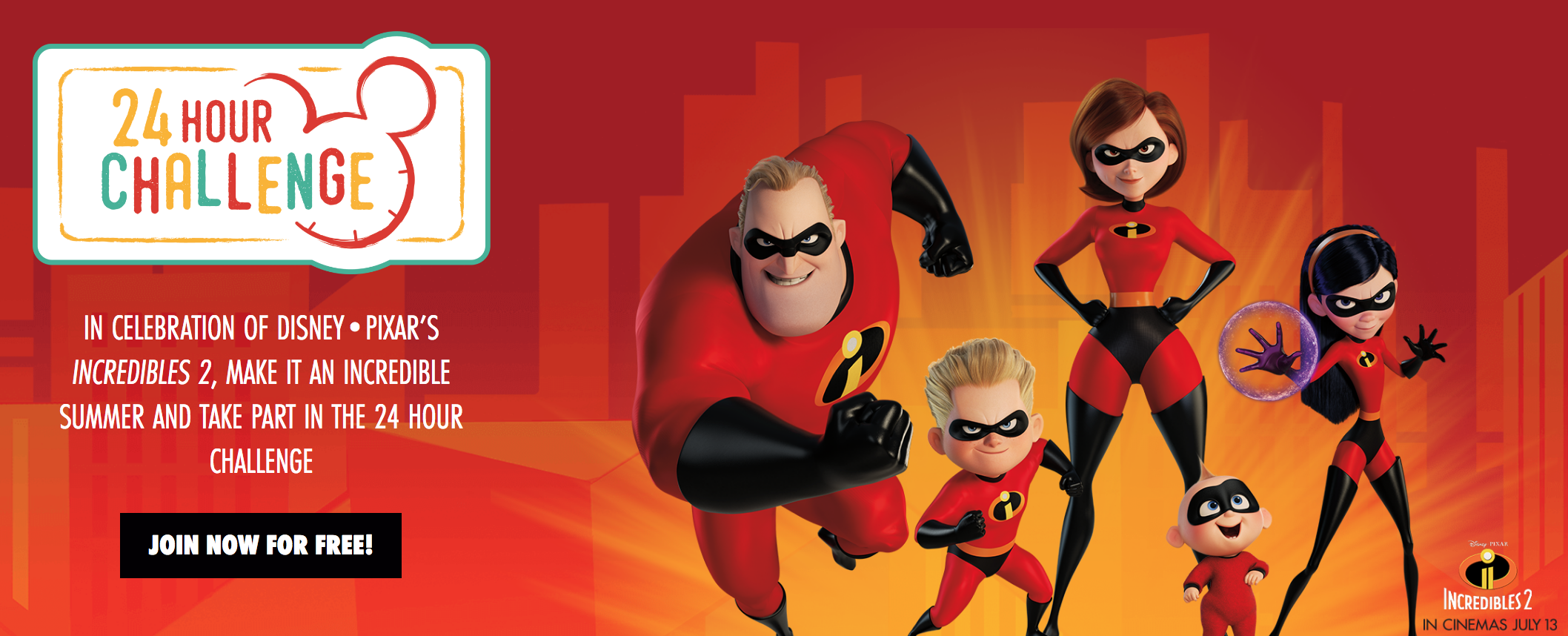 disney 24 hour challenge disney24hourchallenge incredibles 2