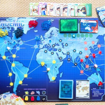 PANDEMIC [BLOGGER BOARD GAME CLUB]