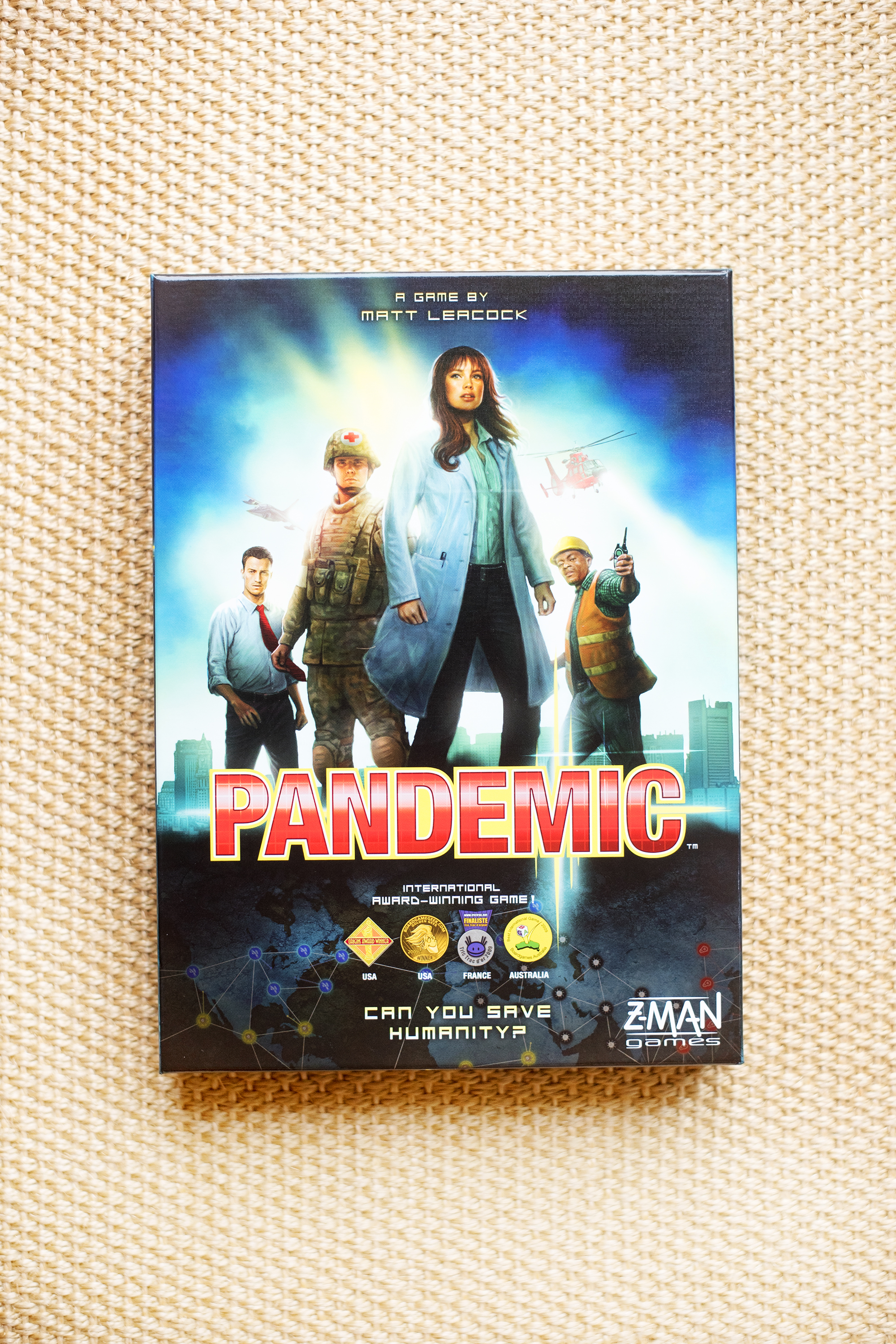 PANDEMIC BOARD GAME Z-MAN