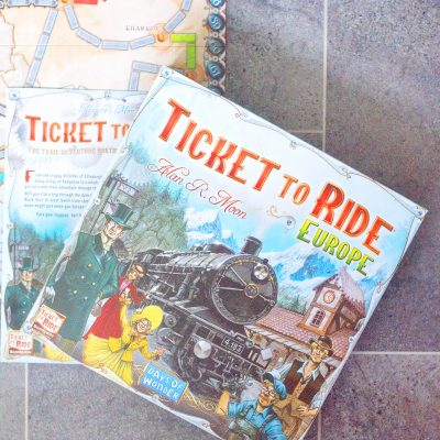 TICKET TO RIDE: EUROPE [BLOGGER BOARD GAME CLUB]