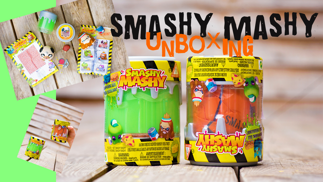 Smashy Mashy toys unboxing video