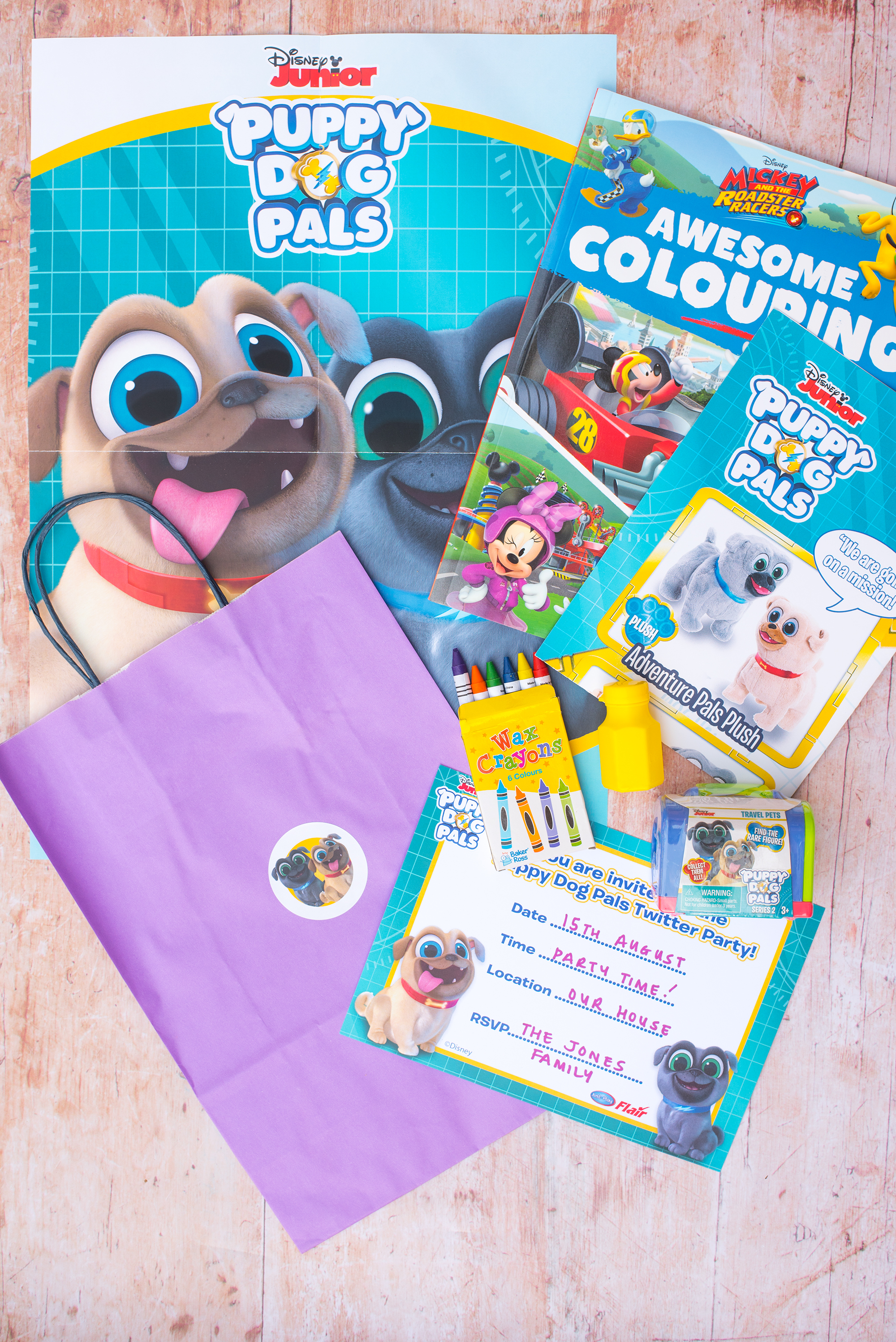 DISNEY JUNIOR PUPPY DOG PALS PARTY DAY IS COMING!