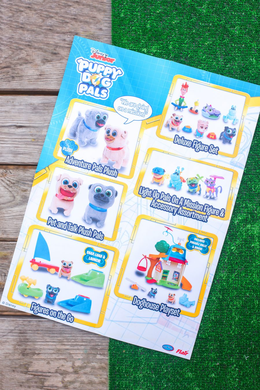 Disney Junior Puppy Dog Pals Toys