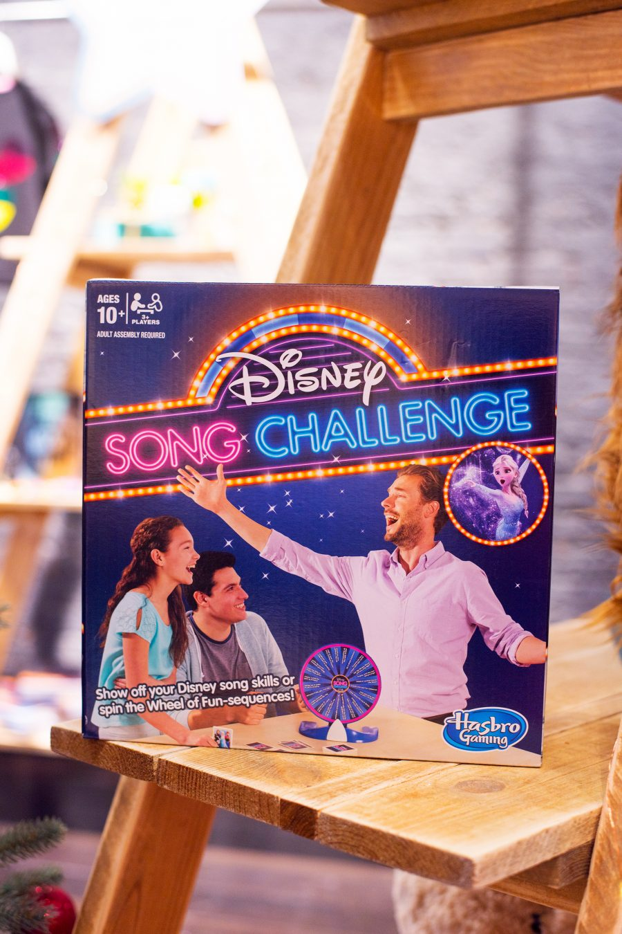 ShopDisneyUK Christmas Song challenge game