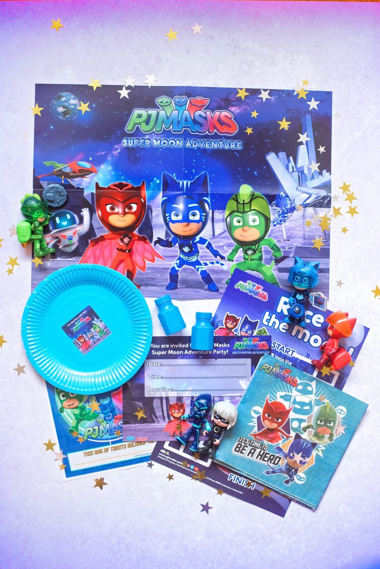 PJ MASKS SUPER MOON ADVENTURE PARTY DAY IS COMING!