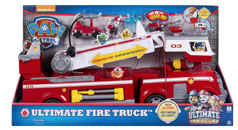 Paw Patrol Ultimate Fire Truck Ultimate Rescue