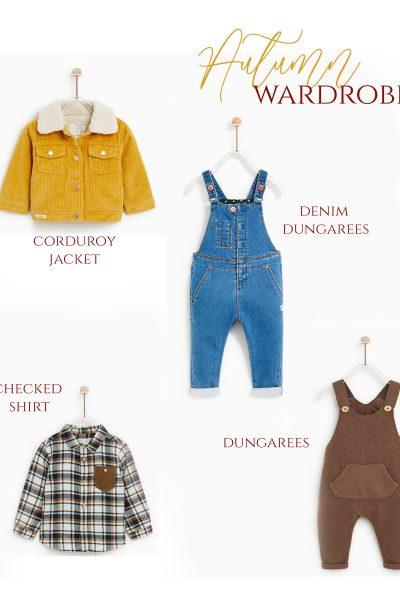 autumn wardrobe zara kids