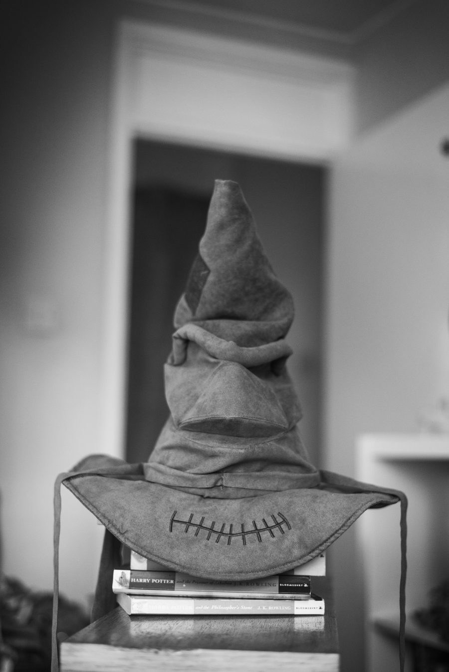 Hogwarts harry potter sorting hat toy