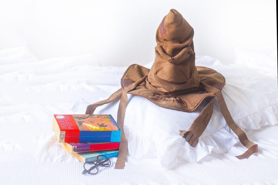 JK rowling harry potter sorting hat toy