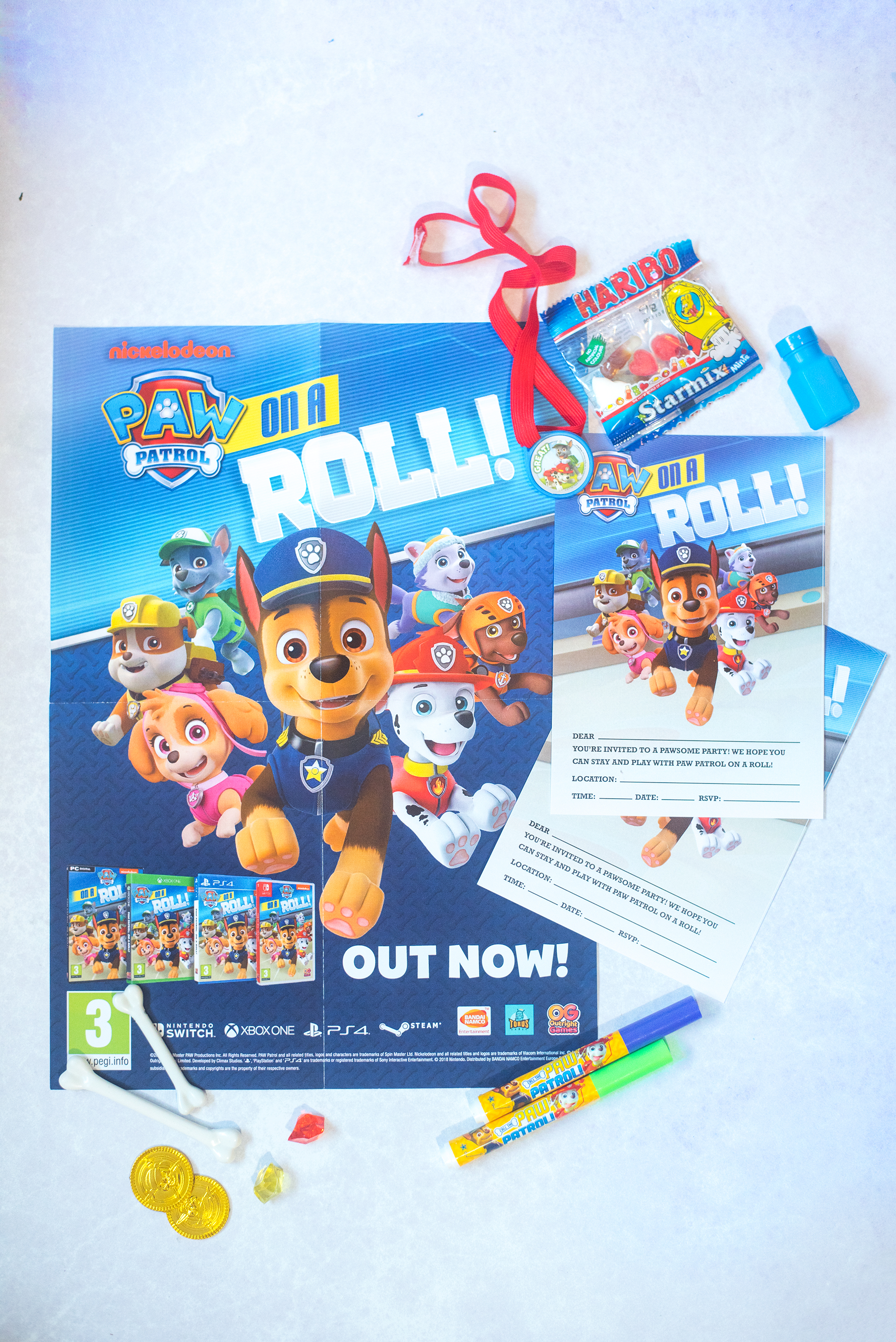 paw patrol on a roll game nintendo switch
