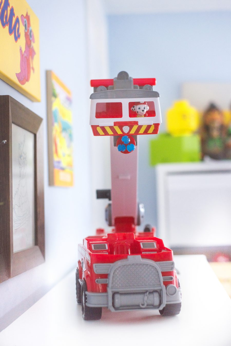 Paw Patrol On A Roll Marshall's Ultimate Firetruck