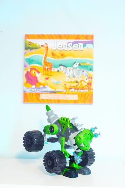 Rusty Rivets Botosaur Toy Dinosaur