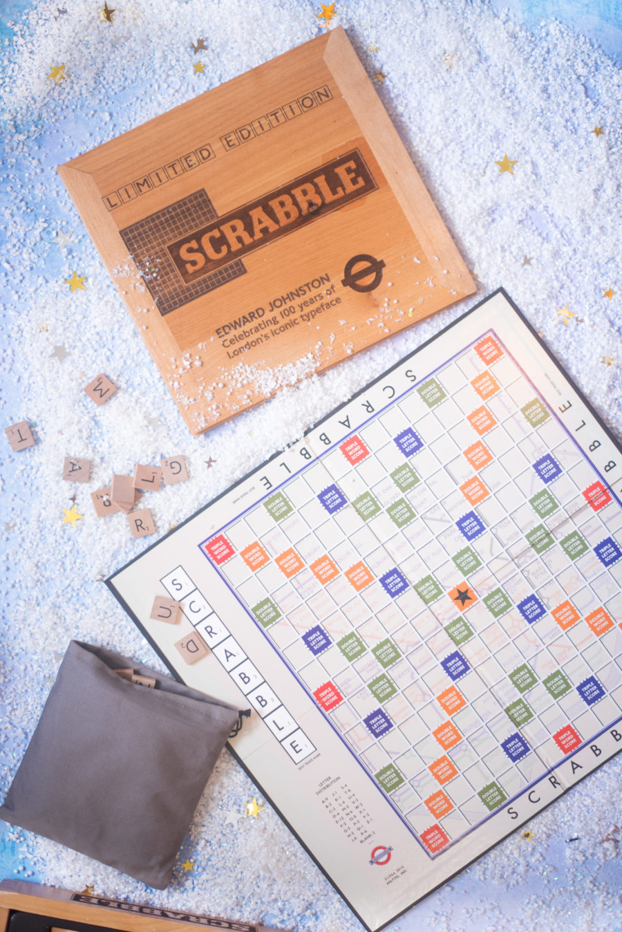 scrabble limited edition london transport edition game