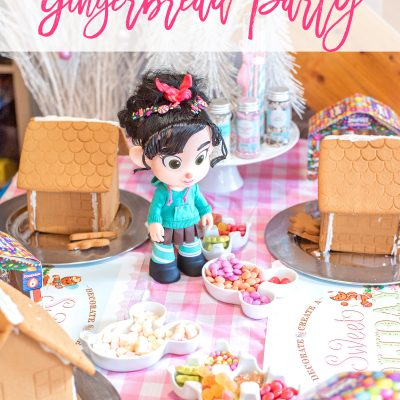 WRECK IT-RALPH 2 GINGERBREAD PARTY