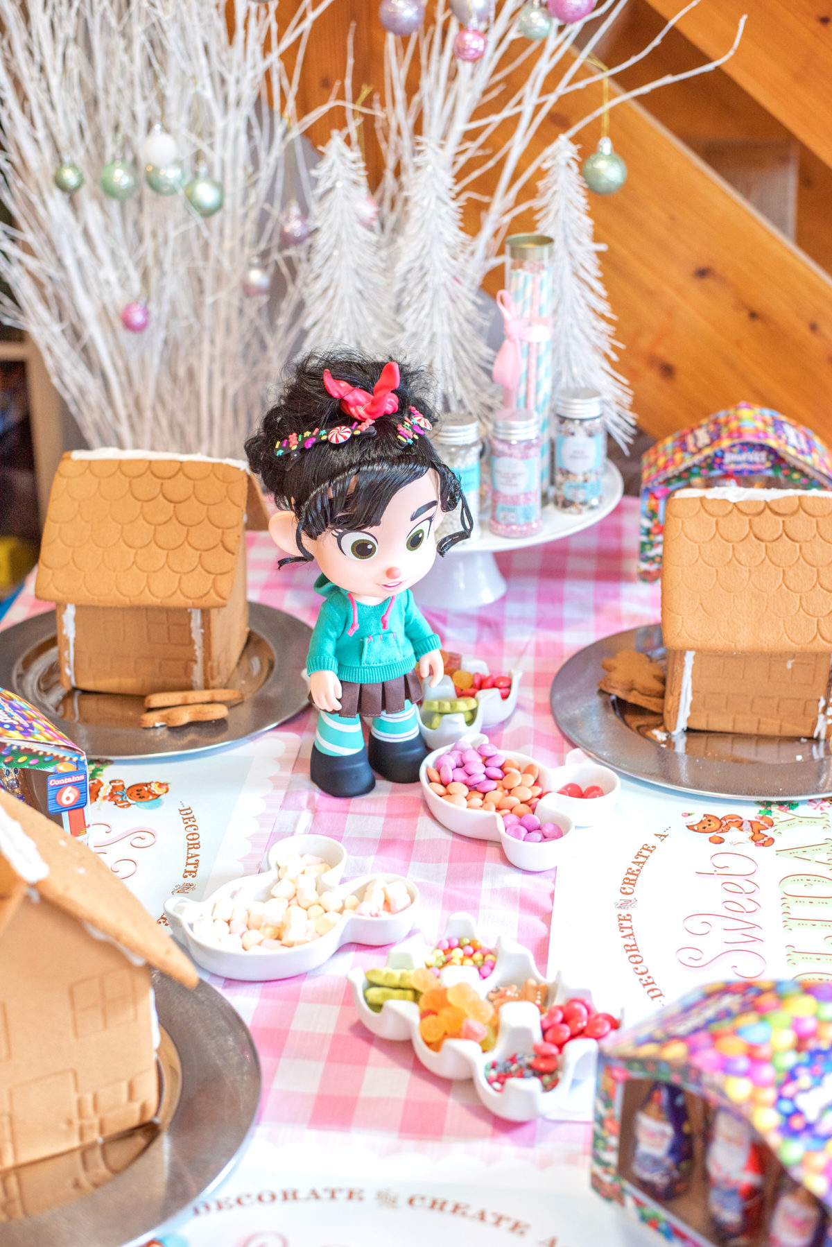 ShopDisney Wreck it Ralph toys Gingerbread party