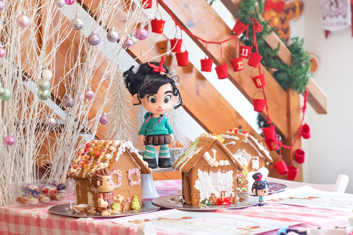 gingerbread wreck it ralph toys talking vanellope von schweetz