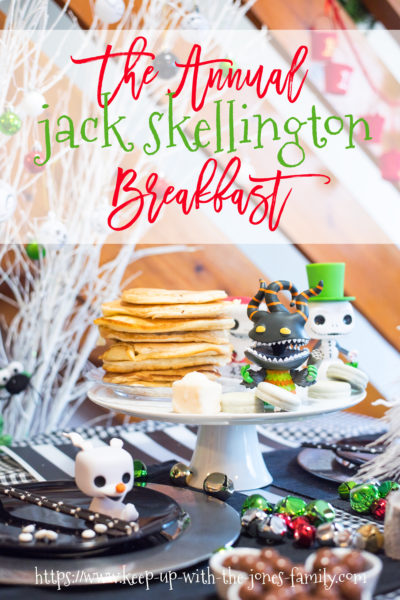 jack skellington breastfast disney
