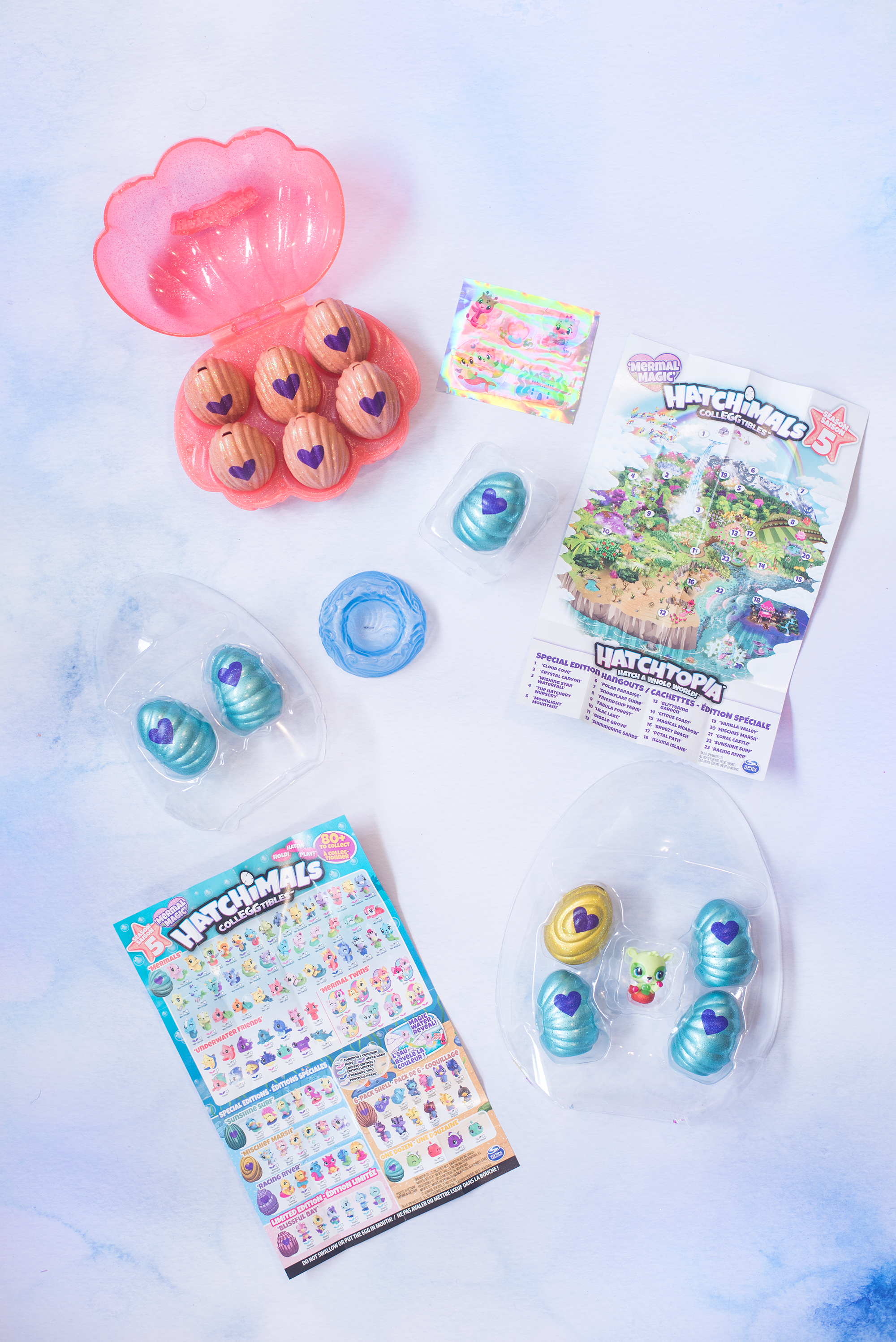 Hatchimals CollEGGtibles Series 5 Mermal Magic
