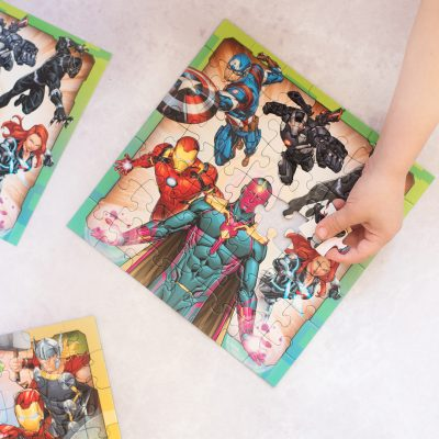 AVENGERS ASSEMBLE JIGSAWS – RAVENSBURGER RAINY DAY FUN