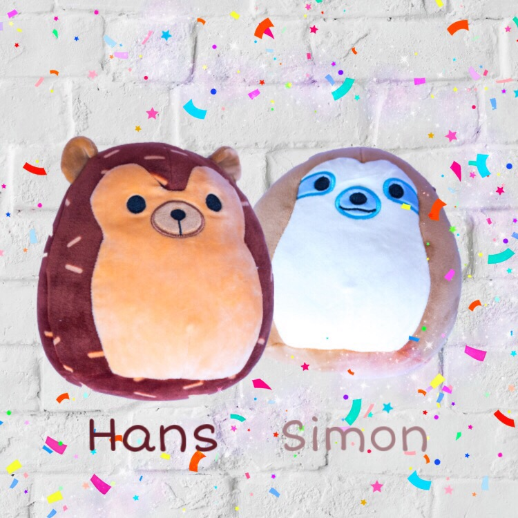 squishmallows toys squad UK hans simon
