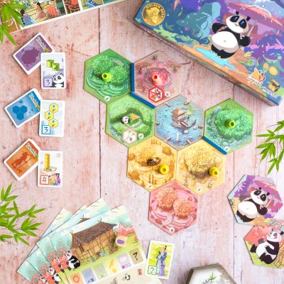 TAKENOKO ASMODEE BOARD GAME