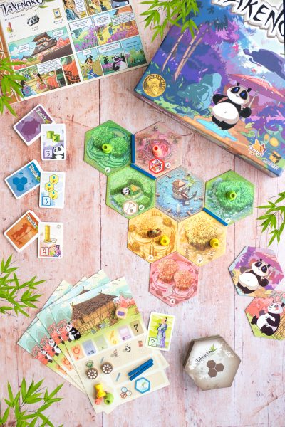 TAKENOKO ASMODEE BOARD GAME