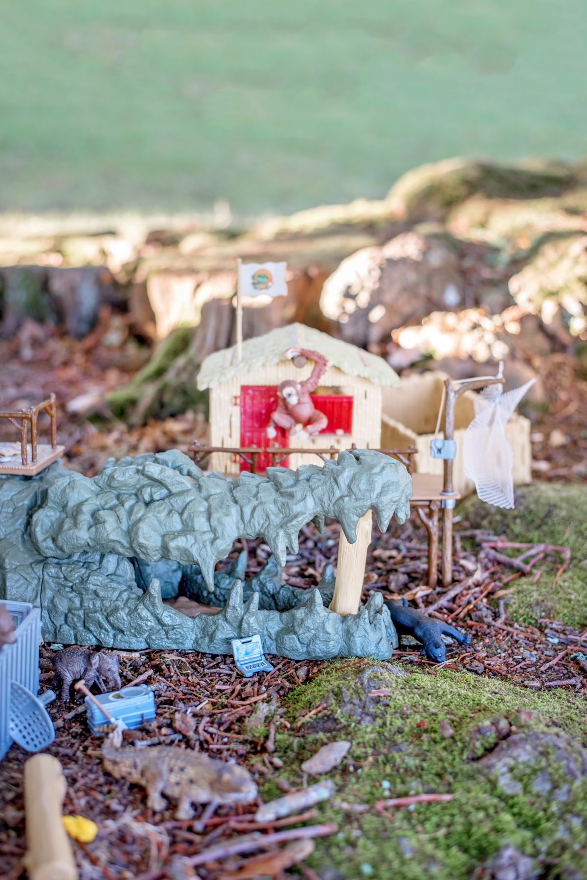 Schleich Croco Jungle Research Station #SCHLEICHANIMALMAGIC IBM HURSLEY
